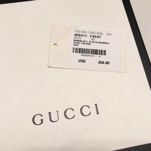 97c6a2ebdc2 Gucci Accessories - Gucci GG Marmont Cuoio Toscano Belt size 85